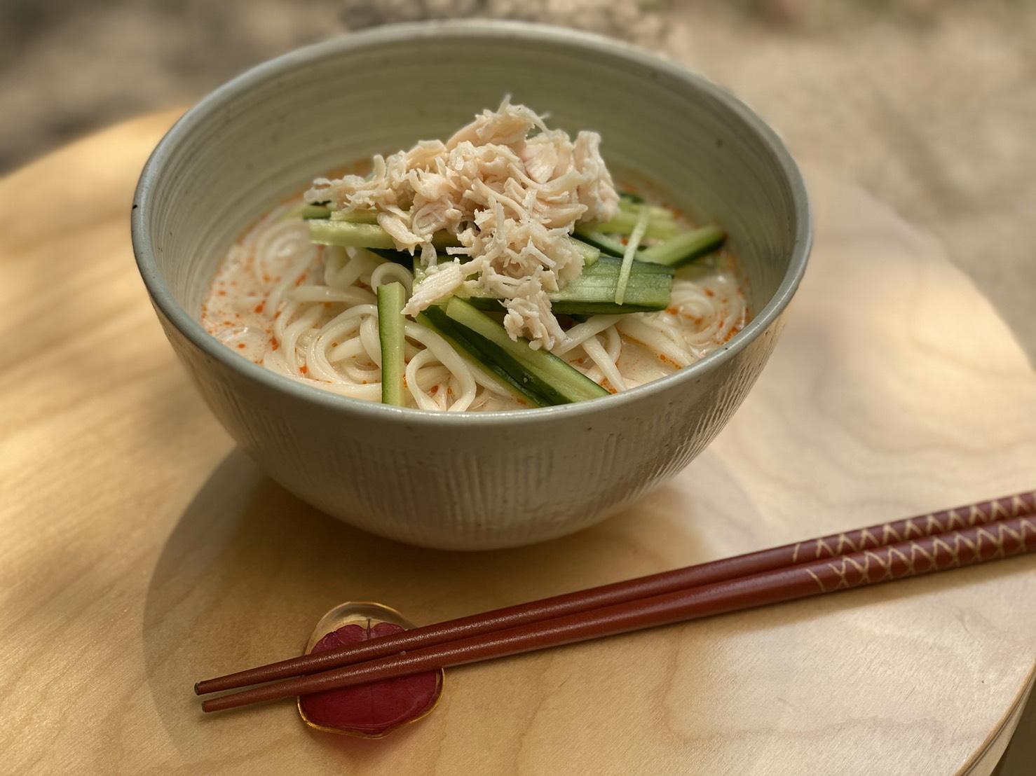 豆乳冷やしうどん Bean Milk Noodle
