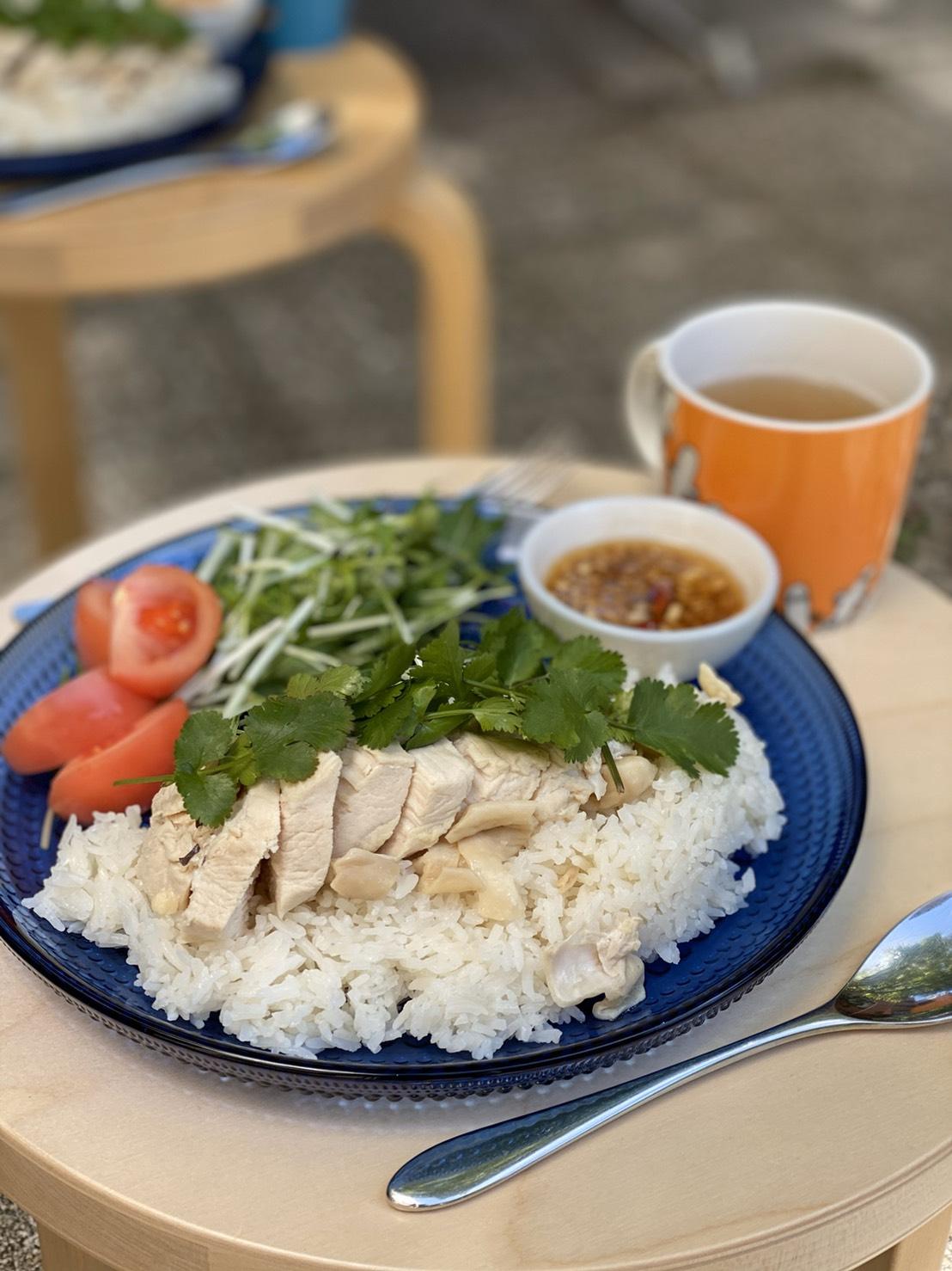 カオマンガイ(海南鶏飯) Khao Man Kai